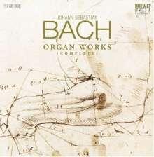 Johann Sebastian Bach (1685-1750): Orgelwerke (Gesamtaufnahme/Brilliant), 17 CDs