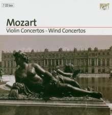 Wolfgang Amadeus Mozart (1756-1791): Mozart-Edition (Brilliant Classics) - Konzerte, 7 CDs