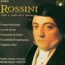 Gioacchino Rossini (1792-1868): 5 Operneinakter, 8 CDs
