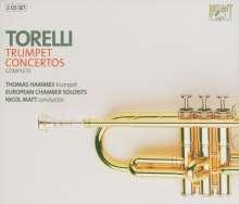 Giuseppe Torelli (1658-1709): Sämtliche Trompetenkonzerte, 2 CDs