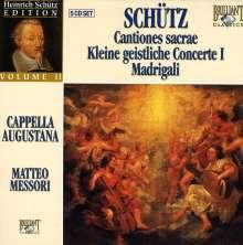 Heinrich Schütz (1585-1672): Heinrich Schütz Edition Vol.2, 5 CDs