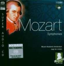 Wolfgang Amadeus Mozart (1756-1791): Mozart-Edition SACD (Brilliant Classics) - Symphonien, 11 Super Audio CDs