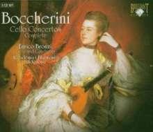Luigi Boccherini (1743-1805): Cellokonzerte Nr.1-12, 3 CDs