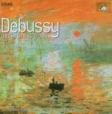 Claude Debussy (1862-1918): Sämtliche Orchesterwerke, 4 CDs