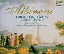 Tomaso Albinoni (1671-1751): Oboenkonzerte op.7 Nr.2,3,5-9,11,12, 3 CDs