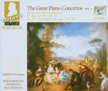 Wolfgang Amadeus Mozart (1756-1791): 250 Years Mozart Masterworks - The Great Piano Concertos II, 3 CDs