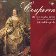 Francois Couperin (1668-1733): Livres de Clavecin 1-4:Ordres 1-27, 11 CDs