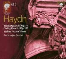 Joseph Haydn (1732-1809): Sämtliche Streichquartette Vol.3, 2 CDs