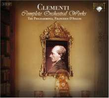 Muzio Clementi (1752-1832): Symphonien Nr.1-4, 3 CDs