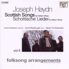 Joseph Haydn (1732-1809): Schottische Lieder Vol.4, 3 CDs