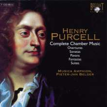 Henry Purcell (1659-1695): Sämtliche Kammermusik, 7 CDs