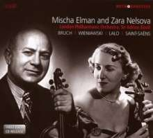 Mischa Elman & Zara Nelsova, 2 CDs