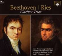 Ludwig van Beethoven (1770-1827): Klarinettentrios op.11 & op.38, 2 CDs