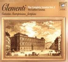 Muzio Clementi (1752-1832): Sämtliche Klaviersonaten Vol.2, 3 CDs