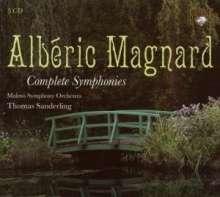 Alberic Magnard (1865-1914): Symphonien Nr.1-4, 3 CDs