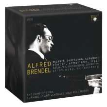 Alfred Brendel - Vox,Turnabout & Vanguard Solo Recordings, 35 CDs