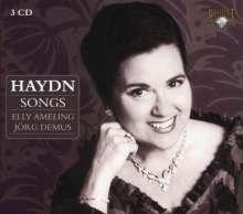 Joseph Haydn (1732-1809): Lieder, 3 CDs