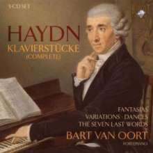 Joseph Haydn (1732-1809): Sämtliche Klavierstücke, 5 CDs