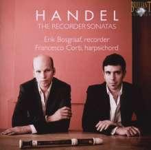 Georg Friedrich Händel (1685-1759): Sonaten für Blockflöte & Bc, CD