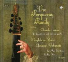 The Forqueray Family - Kammermusik f.Viola d.Gamba & Cembalo, 2 CDs