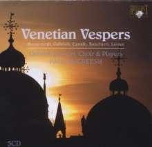 Venetian Vespers, 5 CDs