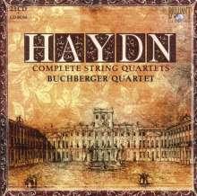 Joseph Haydn (1732-1809): Sämtliche Streichquartette, 23 CDs