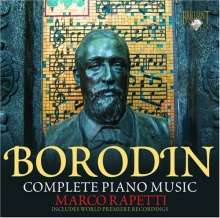 Alexander Borodin (1833-1887): Klavierwerke, CD