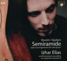 Mauro Giuliani (1781-1829): Semiramide - Highlights aus Rossinis Oper für Gitarre, 2 CDs