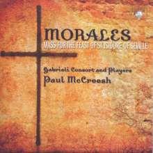 Cristobal de Morales (1500-1553): Missa Mille regretz, CD