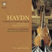Joseph Haydn (1732-1809): Sämtliche Baryton Trios, 21 CDs