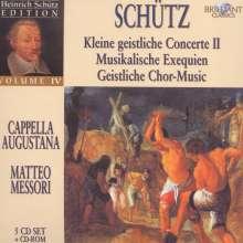 Heinrich Schütz (1585-1672): Heinrich Schütz Edition Vol.4, 5 CDs