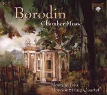 Alexander Borodin (1833-1887): Die komplette Kammermusik, 3 CDs