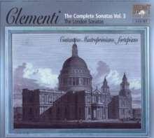Muzio Clementi (1752-1832): Sämtliche Klaviersonaten Vol.3, 3 CDs