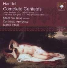 Georg Friedrich Händel (1685-1759): Sämtliche Kantaten Vol.1, CD