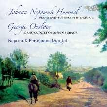Johann Nepomuk Hummel (1778-1837): Klavierquintett op.74, CD