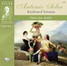 Antonio Soler (1729-1783): Sämtliche Cembalosonaten Vol.3, 2 CDs