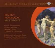 Nikolai Rimsky-Korssakoff (1844-1908): Mainacht, 2 CDs