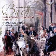Wilhelm Friedemann Bach (1710-1784): Cembalokonzerte, 2 CDs