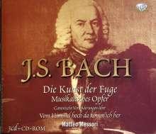 Johann Sebastian Bach (1685-1750): Die Kunst der Fuge BWV 1080, 3 CDs