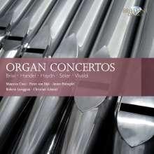 Organ Concertos, 10 CDs