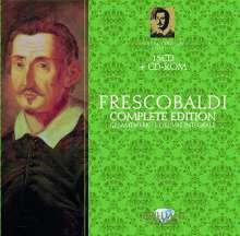 Girolamo Frescobaldi (1583-1643): Frescobaldi Edition, 15 CDs