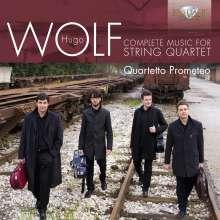 Hugo Wolf (1860-1903): Streichquartett d-moll, CD