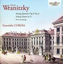 Anton Wranitzky (1761-1820): Streichquintett op.8 Nr.3, CD