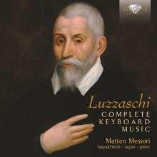 Luzzasco Luzzaschi (1545-1607): Sämtliche Werke für Tasteninstrumente, CD