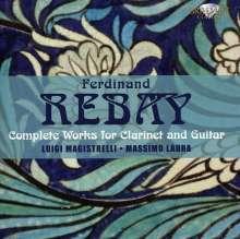 Ferdinand Rebay (1880-1953): Sämtliche Werke für Klarinette & Gitarre, CD