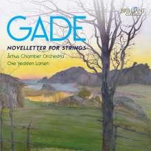 Niels Wilhelm Gade (1817-1890): Novelletten f.Streicher Nr.1 & 2, CD