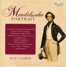 Felix Mendelssohn Bartholdy (1809-1847): Mendelssohn - A Portrait (40 CD-Edition), 40 CDs