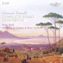 Giovanni Paisiello (1740-1816): Klavierkonzerte Nr.1-8, 2 CDs