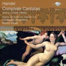 Georg Friedrich Händel (1685-1759): Sämtliche Kantaten Vol.3, CD