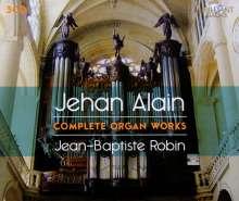 Jehan Alain (1911-1940): Sämtliche Orgelwerke, 3 CDs